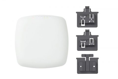 Mounting options picture for Plasma Cloud's PA2200 WiFi Access Point.