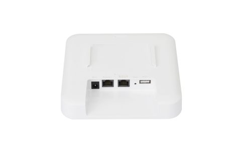 Rear picture of Plasma Cloud's PA1200 WiFi Access Point.