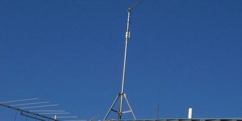 PA300E with custom high gain directional antennas acting as a gateway. The IP55 housing allowed for outdoor mounting.
