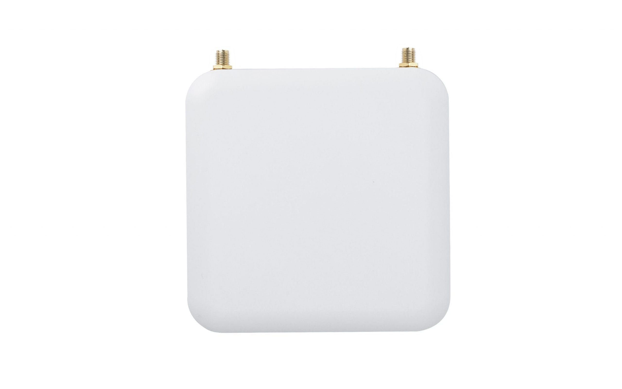 Top picture of Plasma Cloud's PA300E WiFi Access Point with no antennas.